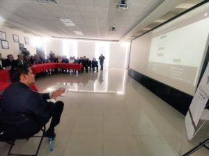 1er click por parte del Director del CIAPEM Ing. Netzer Díaz Jaime